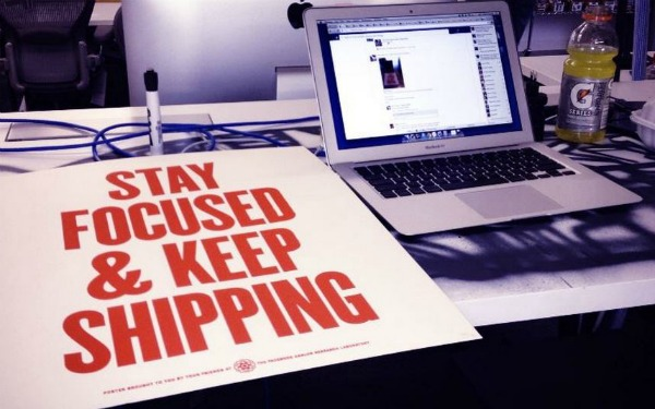 stay focused keep shipping