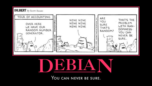 Dilbert on Debian
