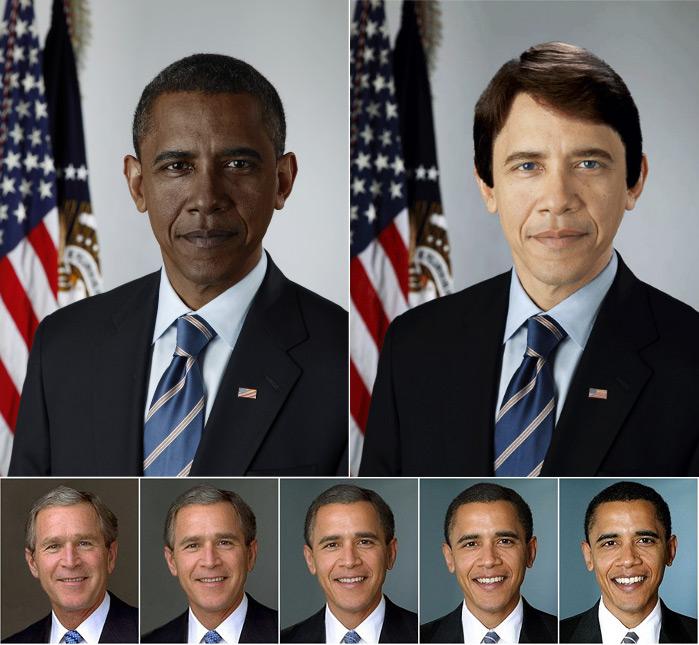 Обама & Буш